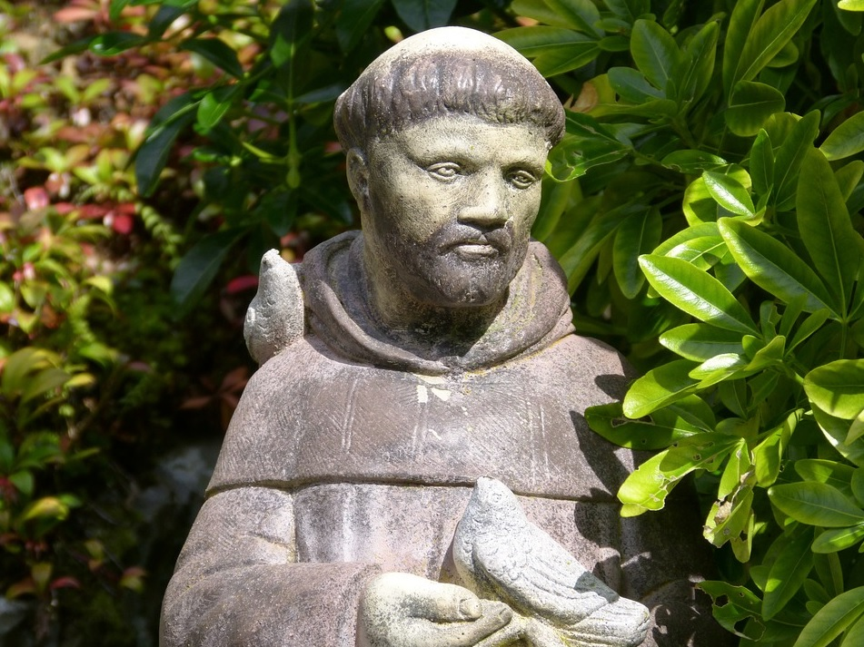 Virus Crisis Hoarding Temptations Cured by Saint Francis of Assisi